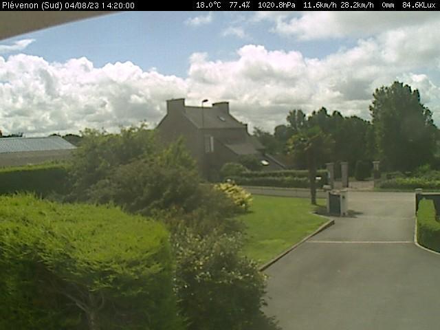 webcam de Plévénon (Plevenon)
